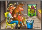 корова-доярка