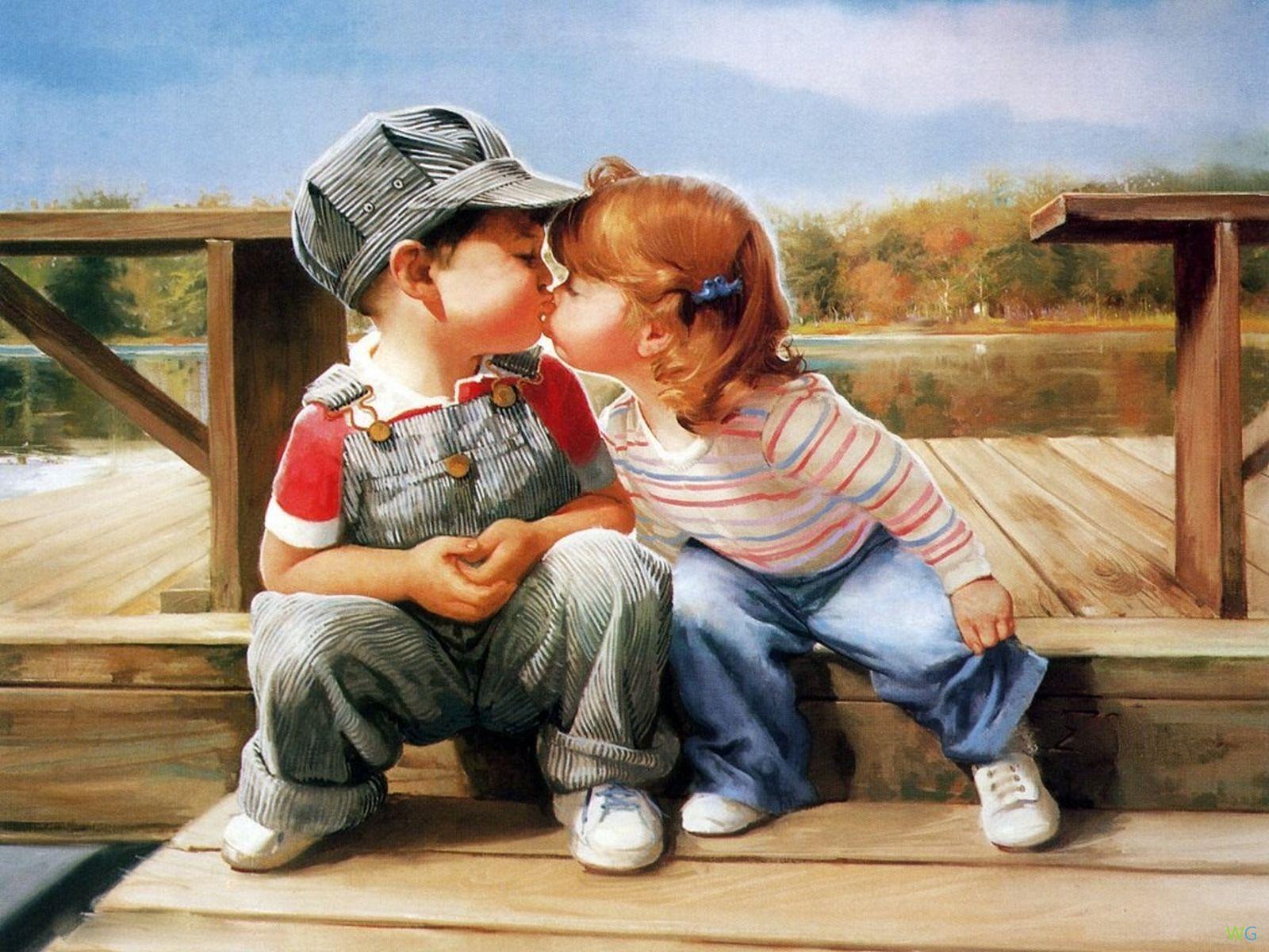 Открытки дружба мужчины и женщины