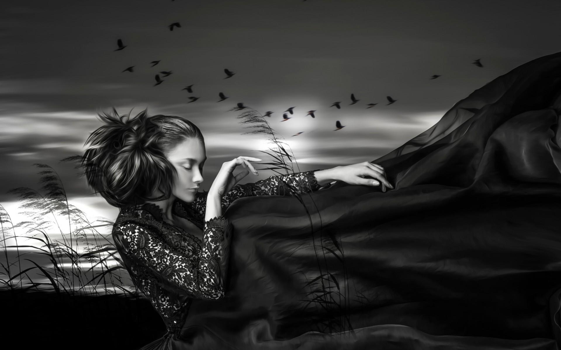 Открытки о грусти и одиночестве