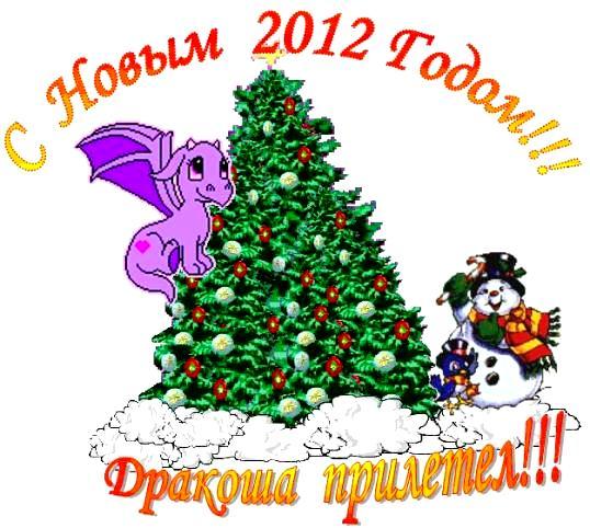 С Новым 2012 Годом, Годом Дракона!!!