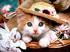 котенок в шляпе Подарок от автора Стелла Маслакова