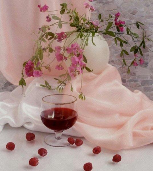 Малиновое вино...