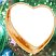 Золотое сердце Подарок от автора Olik Yolkina