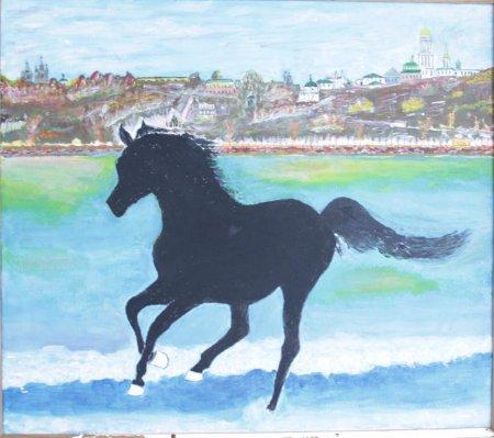Белокопытый Конь Калка на Берегах Борисфена