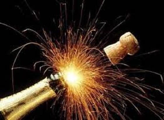 Пусть стреляет  шампанское!