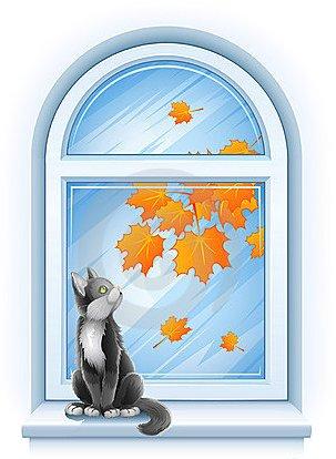 Осень за окошком