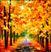 Осенние аллеи Подарок от автора Гюльчитай